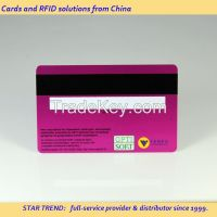 ST-16002 | Magnetic Stripped Hotel Key Card | Plastic Key Card