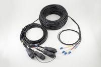 Fiber Optic Fullaxs LC-LC 8fiber Outdoor Patch Cord