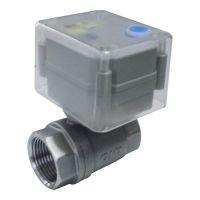 Economic full port small size motor driven ball valve with anti-UV case
