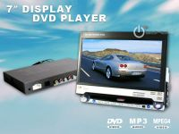 "7"" Fully Motorized Colour TFT LCD Car TV Monitor DVD VCD Player"
