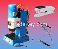 pneumatic riveting machine, orbital riveting machine, desktop riveting machine