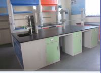 Lab Bench Lab Table 10 Feet Long All Steel Laboratory Central Table Lab Island Bench with CE certificate