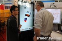 Infrared touch interactive kiosk for sale