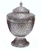 Brass urns for Human Ashes