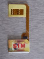 dual sim card, double card
