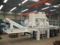 mobile crusher iron concrete