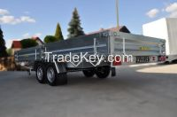 CAR FLATBED TRAILER Indyvidual orders GALVANIZED trailers EC APPROVAL