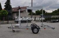 TRAILER to TRANSPORT SCAFFOLDING Indyvidual orders trailers EC APPROVAL