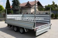FLATBED Tarpaulin TRAILER Indyvidual orders trailers EC APPROVAL