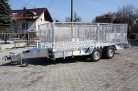 SOLID TRAILER to transport mini diggers or other building equipment NEW