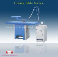 High quality steam ironing table iron and boiler for laundry shop