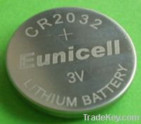 CR2032 CR2016 CR2025 3v Lithium button/coin cell battery