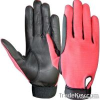Riding Leather Fourway Gloves