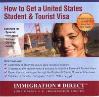 US STUDENT & TOURIST VISA MULTI LANGUAGE DVD