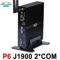 Partaker P6 Celeron j1900 Mini PC Core Win7 / Linux / Windows Desktop Thin client Macro Computer Mini PCs free shipping