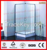 TUV1 shower room/shower enclosure/shower door/shower screen/bath screen/shower cubicle/shower booth/shower house/shower cabin/shower cabinet