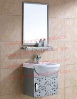 SGS1 stainless steel wall hung bathroom vanity/bathroom cabinet/bathroom furniture