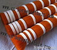 dyed horsetail hair