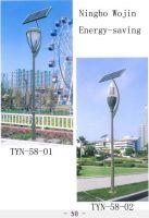 Solar garden lights, Luces solares de jardín, Lampes de jardin solaires