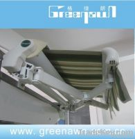 Semi Cassette Operated Awning