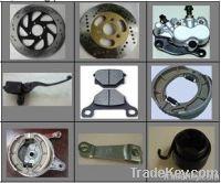 Motorcycle braking parts