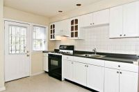 Standard American wood kitchen cabinets
