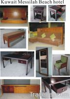 Hotel Furniture, Bedroom Furniture, Headboard, Mattress, Luggage Rack, Desk