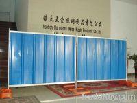 steel hoarding panels(factory)