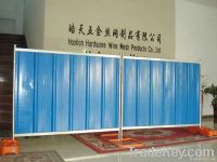 temporary hoarding(ISO factory)