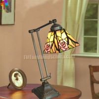 6 in stained glass tiffany style table lamp desk lamp flower lamp