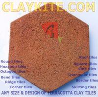 Terracotta tiles (Handmade).