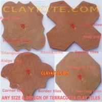 Terracotta tiles |Handmade|