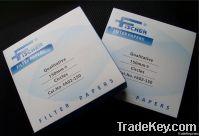 filter paper, quantitative filter paper, qualitative filter pape