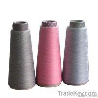 polyester and viscose blended yarn