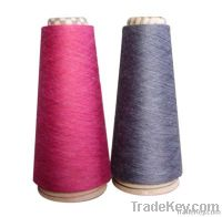 cotton and nylon blended yarn