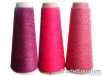 Electroconductive fiber yarn