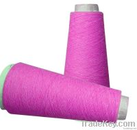 Cotton wool blended yarn