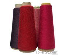 Nylon rabbit hair blended yarn