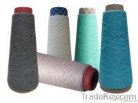 Cotton acrylic blended yarn