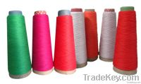 Cotton bamboo fibre blended yarn