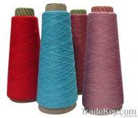 Cotton viscose nylon bamboo fibre blended yarn