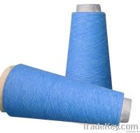 Cotton soybean bamboo fibre blended yarn
