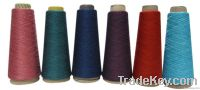 Cotton cashmere blended yarn