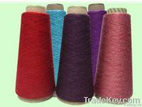 Viscose soybean fibre blended yarn
