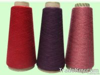 Viscose soybean fibre blended yarn