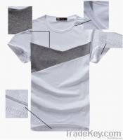 Men's T shirt with joint body