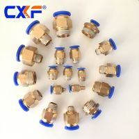 PC Series Male Straight Quick Pneumatic Pipe Fitting
