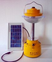 High Intensity LED based solar lantern