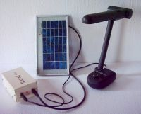 LED Based Solar Reading Lamp