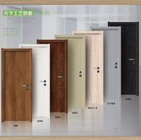 zhongshan factory supplier rubber solid wood door